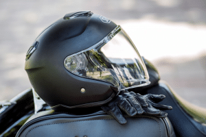 Motorcycle Helmet Laws and Recovery for Injuries
